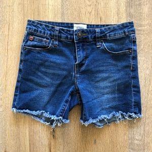 Hudson Denim Cutoff Jean Shorts